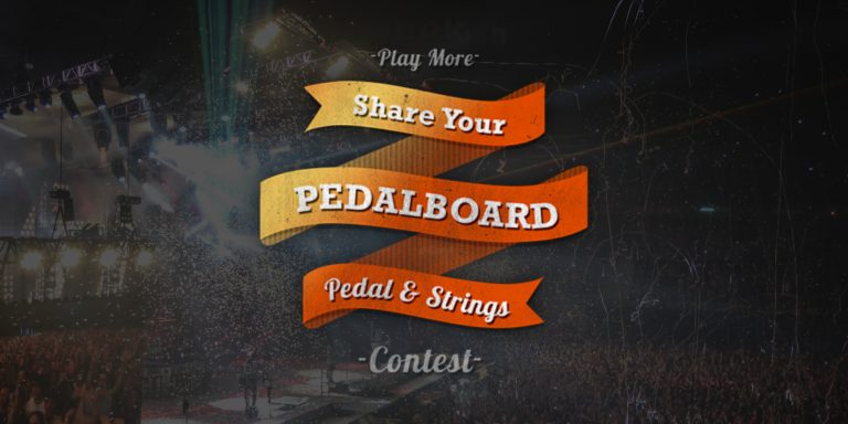 Share Your Pedalboard Contest Completed