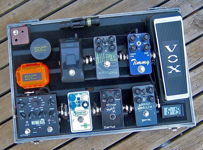 SonoTone Contest | Martin's pedal board | Third Place