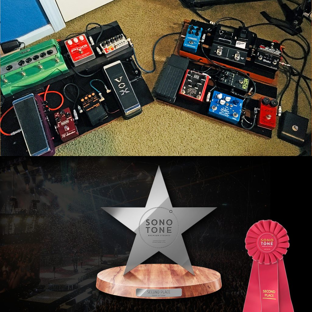 SonoTone Share Your Pedalboard Contest | Second Place