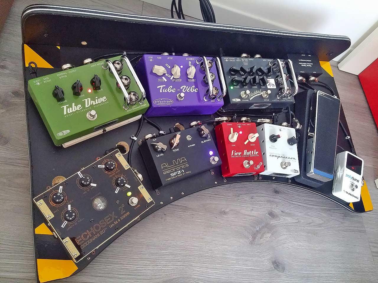 SonoTone Contest | My pedalboard...