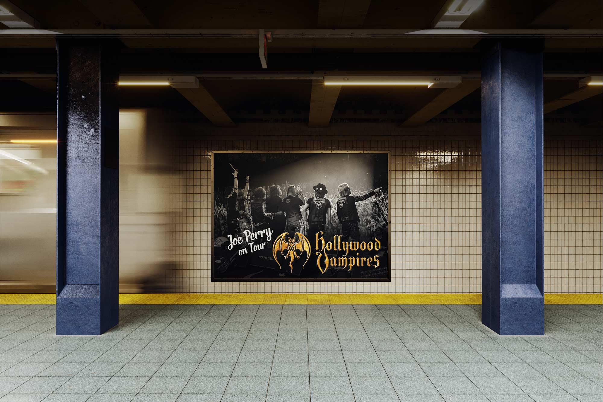 Joe Perry Subway Poster