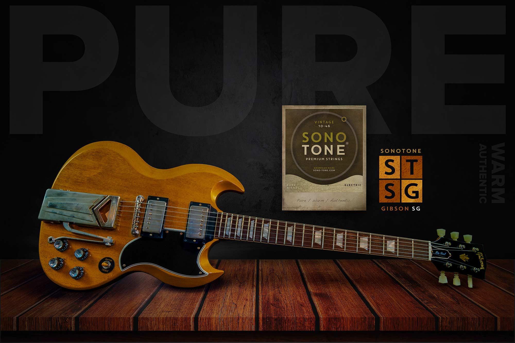SonoTone Wide Angle Guitars